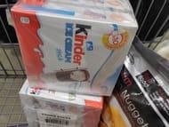 Kinder Ice Creams X30