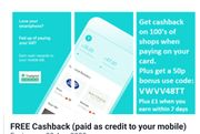 10% Cashback at Morrisons, 5% Boots / Primark Etc (Paid to Your Mobile Bill)