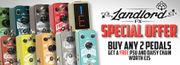 Best Price Buy 2 Landlord FX Guitar Pedals 16%off at GuitarGuitar