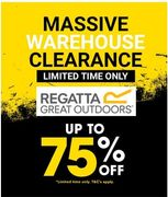 MASSIVE WAREHOUSE CLEARANCE at Regatta