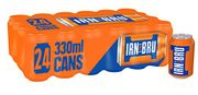 Prime Only Deal! IRN-BRU Soft Drink Cans, 24 X 330 Ml