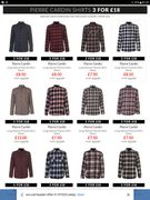 AMAZING PIERRE CARDIN SHIRTS THREE for £18 !!! ONLINE ONLY