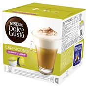 Best Ever Price! NESCAF DOLCE GUSTO Cappuccino Skinny/Light Coffee Pods X 48