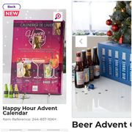 BeerAdvent Calendar Only£29.99 Happy HourAdvent Calendar Only£14.99.