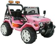 Pink 2 Seater 12v Ride on Truck