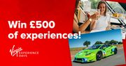 Win £500 of Experiences with Virgin
