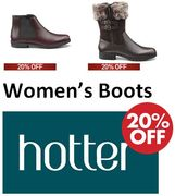 Hotter Women's Boots - 20% off with Code