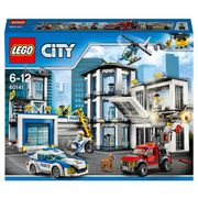 LEGO 60141 City Police Station, Helicopter Car and Bike Toys
