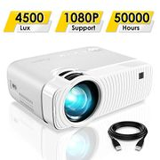 Stack Deal ELEPHAS Portable Projector with 4500 Lux and Full HD 1080p