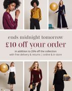 Pure Collection - Hurry! an Extra £10 off Your Order Ends Tomorrow