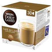 Nescaf Dolce Gusto Cafe Au Lait Coffee Pods, 30 Capsules