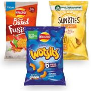 Cheap Wotsits, Walkers Sunbites or Walkers Oven Baked 6pk - Only 79p