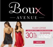 Boux Avenue - 30% off - PJs, Robes, Chemises & Camis