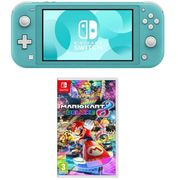 NINTENDO Switch Lite & Mario Kart 8 Deluxe Bundle - Turquoise Only £219