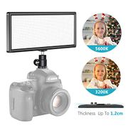 Neewer T120 Super Slim Dimmable Two-Tone LED Panel Camera Light