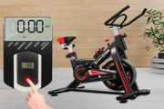 Hurricane X2 Spinning Exercise Bike 12kg Fly Wheels, LCD Display
