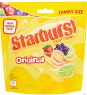 Starburst Original 210g Sainsbury's