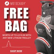 Scottsdale Golf - Free Bag worth £219.99 with Any New Lithium Trolley