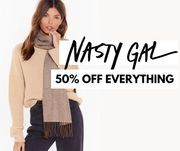 Hurry! Nasty Gal 50% Off Absolutely EVERYTHING