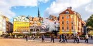 £85pp Riga: 3-Nt Break at 4-Star Hotel W/flts & Breakfast