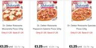 Dr. Oetker Ristorante Pizzas 320g All Varieties £1.25 at Sainsburys