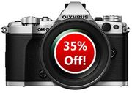 SAVE £527 - Olympus OM-D E-M5 Mark II Camera