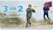 3 for 2 on Selected Accessories