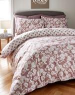 Best Price Darcy Dusky Pink Duvet Cover Set