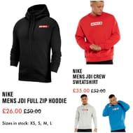 Nike Mens Jdi Full Zip Hoodie.