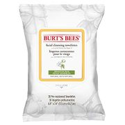 Burt's Bees Facial Cleansing Towelettes, Face Wipes for Sensitive Skin
