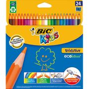 Cheap 24pk Bic Kids Evolution Colouring Pencils, Only £2!