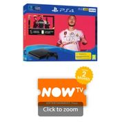 500GB PLAYSTATION 4 with FIFA 20 and NOW TV Only £209