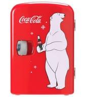 Cheap Coke Mini Fridge with Bear Only £35