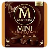 Mini Magnum - Chocolate & Orange Flavour - Ice Cream 6x60ml