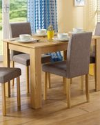 *SAVE £260* Kingston 7-Piece Dining Set with Fabric Chairs