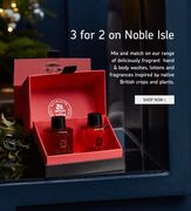 Bath & Unwind UK - 3 for 2 on All Noble Isle