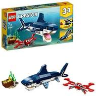 LEGO Creator 3-in-1 Deep Sea Creatures - Shark, Squid, & Angler Fish (31088)