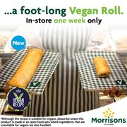 Vegan Footlong Sausage Roll