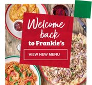 33% off Mains at Frankie and Bennys