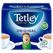 Almost Half Price on Tetley Tea Bags 160 at the Co-Op.