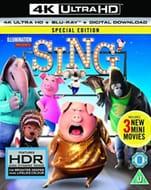 Sing (4K Ultra HD + Blu-Ray + Digital Download 39%off@ Cast-Iron-dvds/eBay