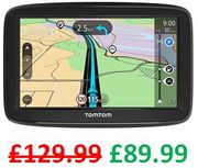 £40 off ! TomTom Car Sat Nav Start 52, 5 Inch with Lifetime EU Maps