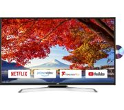 "*SAVE £20* JVC 43"" Smart LED TV with Built-in DVD Player & Freeview"