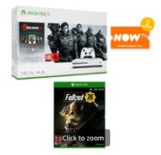 1TB XBOX ONE S with GEARS 5 + FALLOUT 76 and NOW TV Only £249