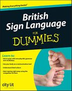 British Sign Language for Dummies - Guide & CD-ROM