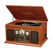 Victrola Classic 6-in-1 Bluetooth Turntable Music Centre