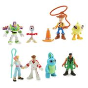 Toy Story 4 Imaginext Deluxe 8 Pack Figure Set