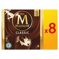 Magnum Classic Ice Creams 8pk