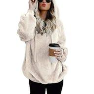 90% off - AKAIDE Womens Hoodies Casual Faux Fleece