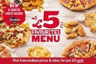 Medium Pizzas for £5